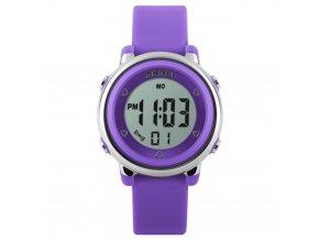 detske digitalni hodinky skmei 1100 fialove