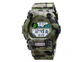 vojenske outdoorove odolne digitalni hodinky skmei 1633 5 baru 5 atm
