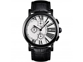 panske rucickove hodinky skmei s rimskymi cislicemi a reminkem z prave kuze 9196 hlavni