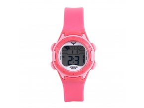 detske digitalni barevne hodinky jnew 9688 4 cerveno ruzove