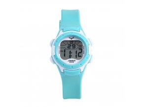 detske digitalni barevne hodinky jnew 9688 5 azurovo bila