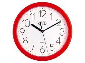 nastenne kuchynske hodiny hranate kulate jvd HP612 2 cervene