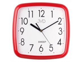 nastenne kuchynske hodiny hranate kulate jvd cervene 6hp15 14