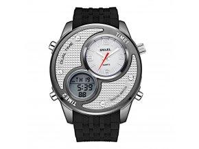 panske digitalni hodinky digitalky smael 1199 bilo cerne