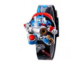 detske digitalni hodinky skmei 1750 robot terminator cerne