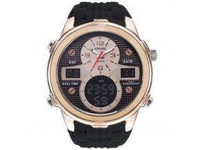 panske hodinky smael1273 rose gold