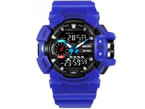 digitalni hodinky smael 1436 modre