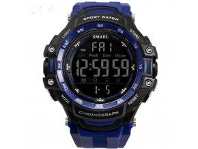 panske digitalni hodinky smael 1350 modre cerne hlavni