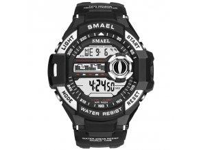 panske digitalni hodinky smael 1516 stribrne