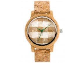 eng pl Drewniany zegarek Bobobird korkowy pasek zx635a 8855 2