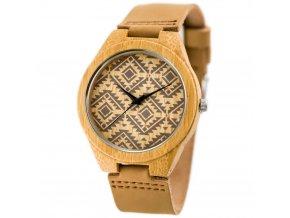 panske hodinky drevene zx625a
