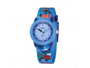 detske hodinky bagr s balonem jnew 86370 rucickove