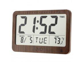 Digitalni nastenne hodiny imitace dreva dh9711