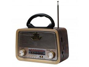 retro analogove radio bluetoth reproduktor 22