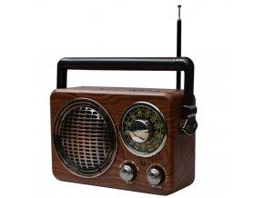retro analogove radio bluetoth reproduktor 1