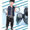 detske digitalni vojenske maskovane army hodinky coobos modre banner 1