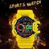 digitalni hodinky smael 1436 zlute banner