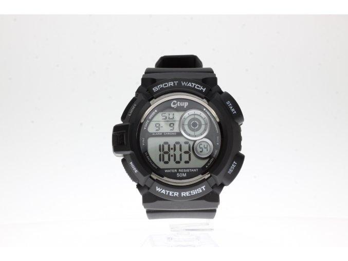 Novinka měsíce TIP na dárek DOPRAVA ZDARMA Doprava zdarma. Sportovní  hodinky GTUP 1070 černé c5a781473f