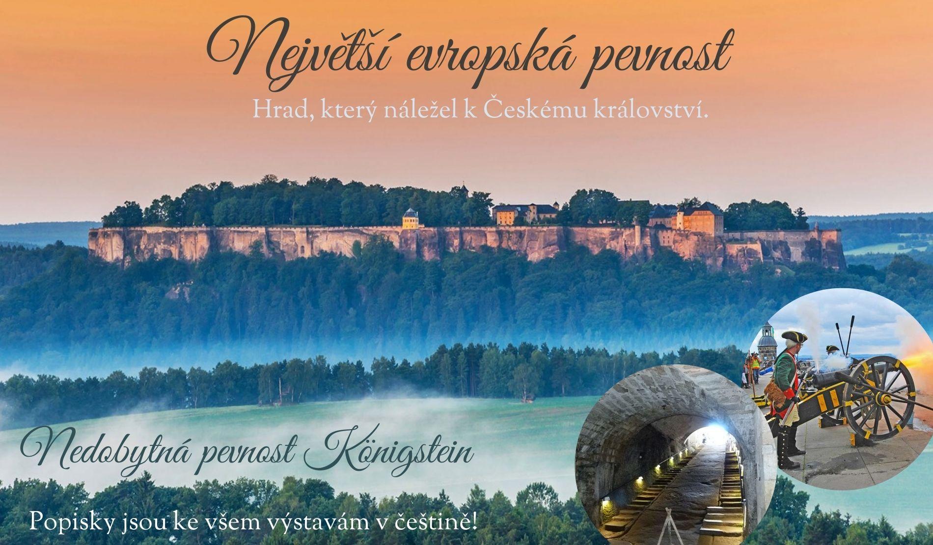Plavba na pevnost Königstein a zpět