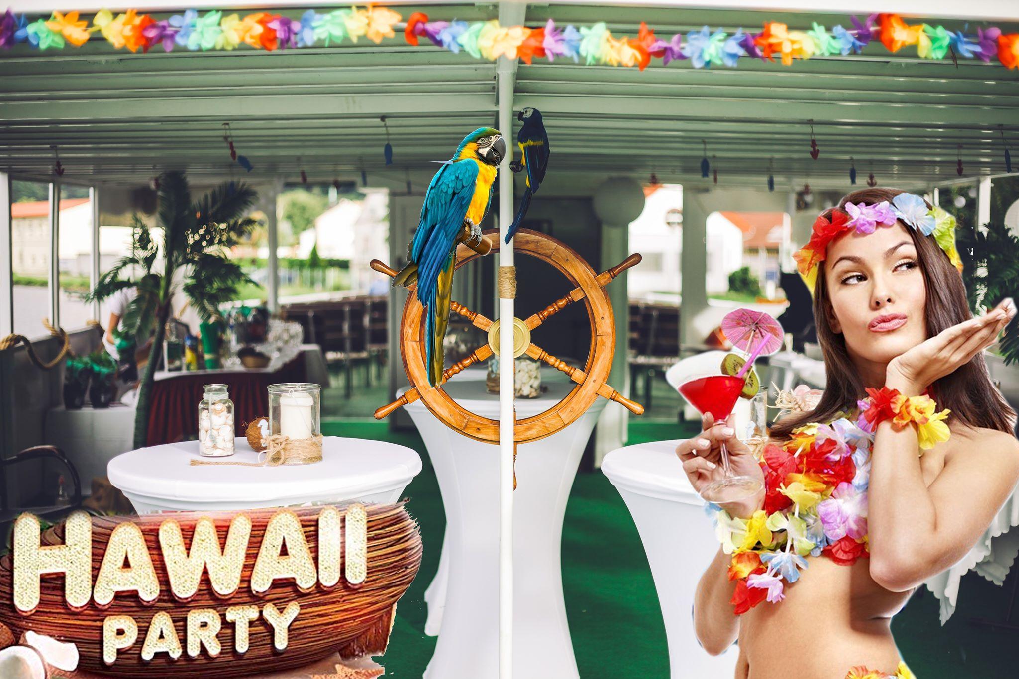 Hawai párty v Ústí nad Labem