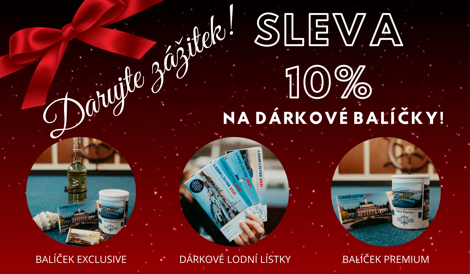 Sleva 10% na Vánoční balíčky