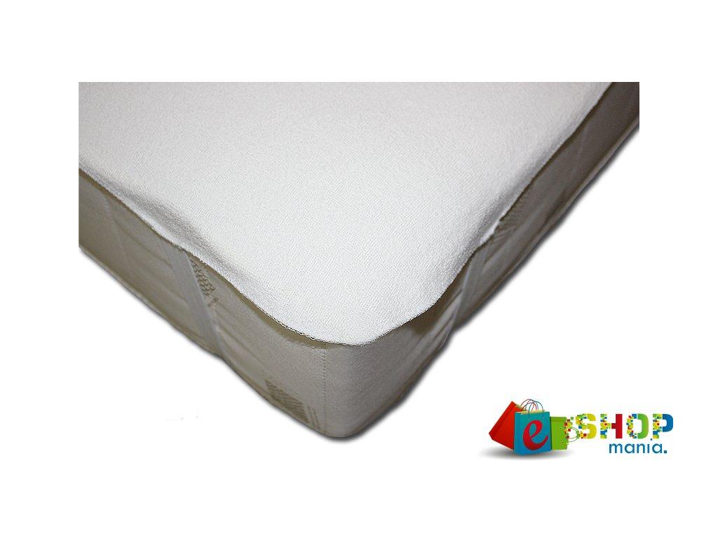 Chránič matrace STANDARD s PU zátěrem  bílá