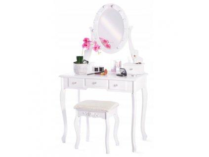 Toaletní stolek TL-09 s LED zrcadlem