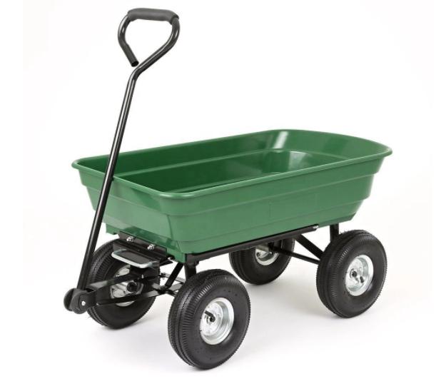 Ekspan Zahradní přepravní vozík, sklápěcí 350 kg