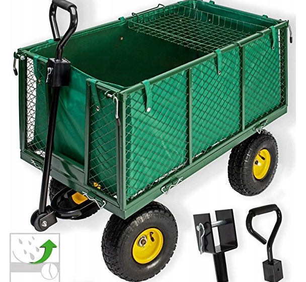 Ekspan Velký zahradní přepravní vozík, přívěs 500 kg