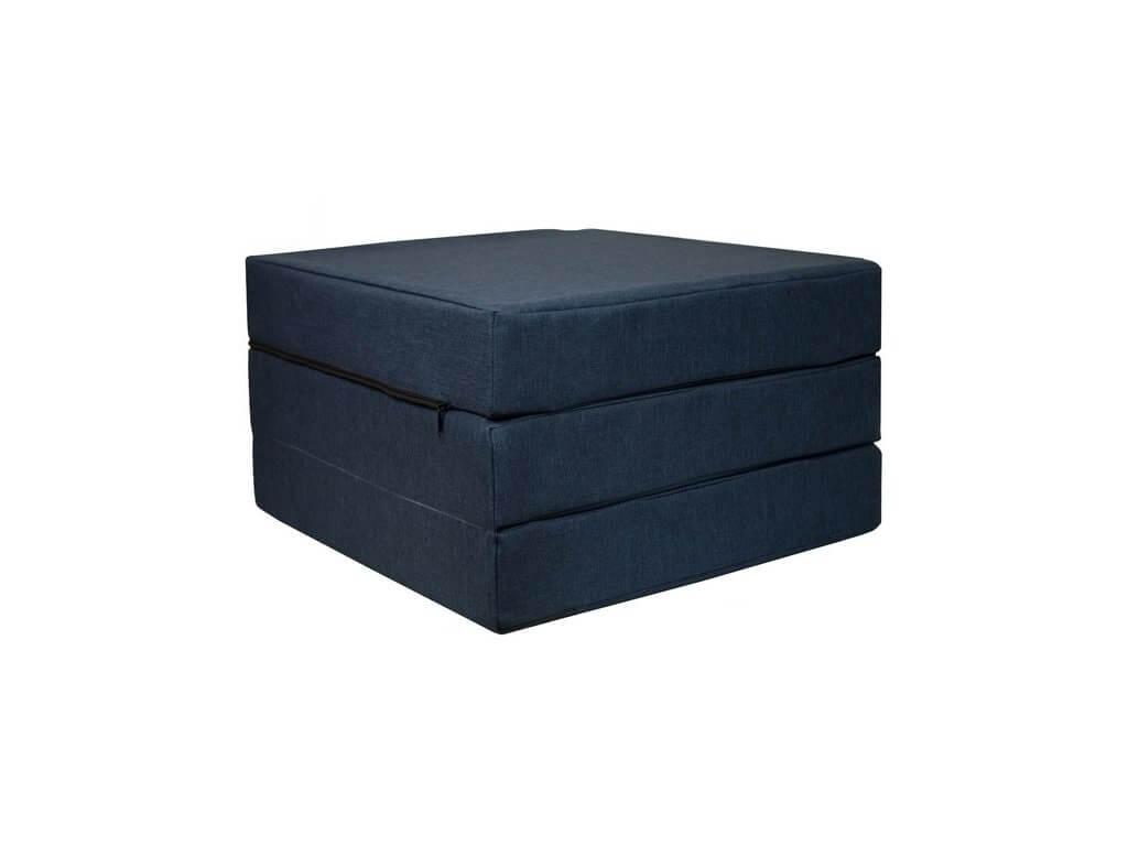 FIMEX Rozkládací matrace pro hosty Elegance 65x195cm Vzor: šedá