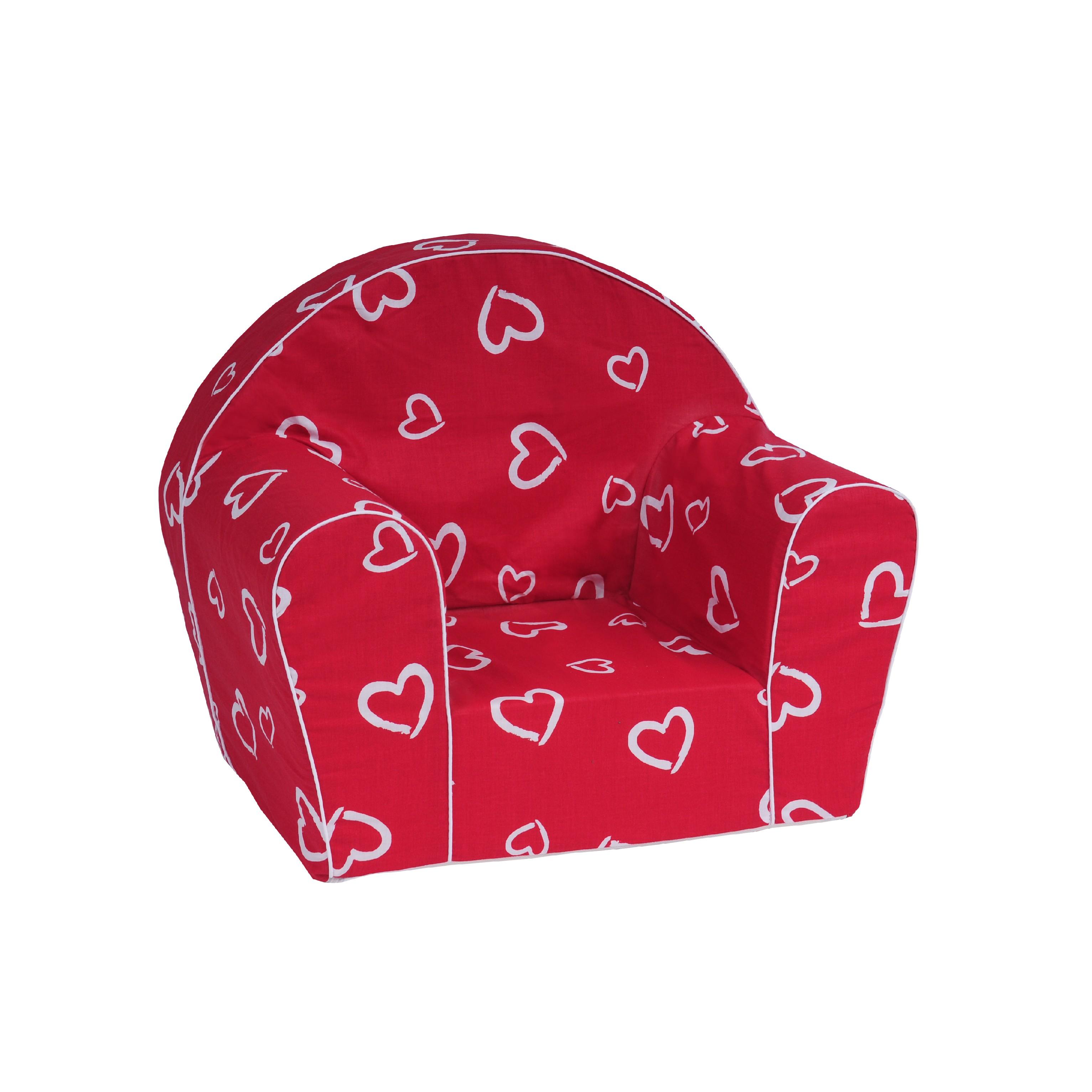 TEX-IM Dětské křesílko Baby Vzor: Srdce