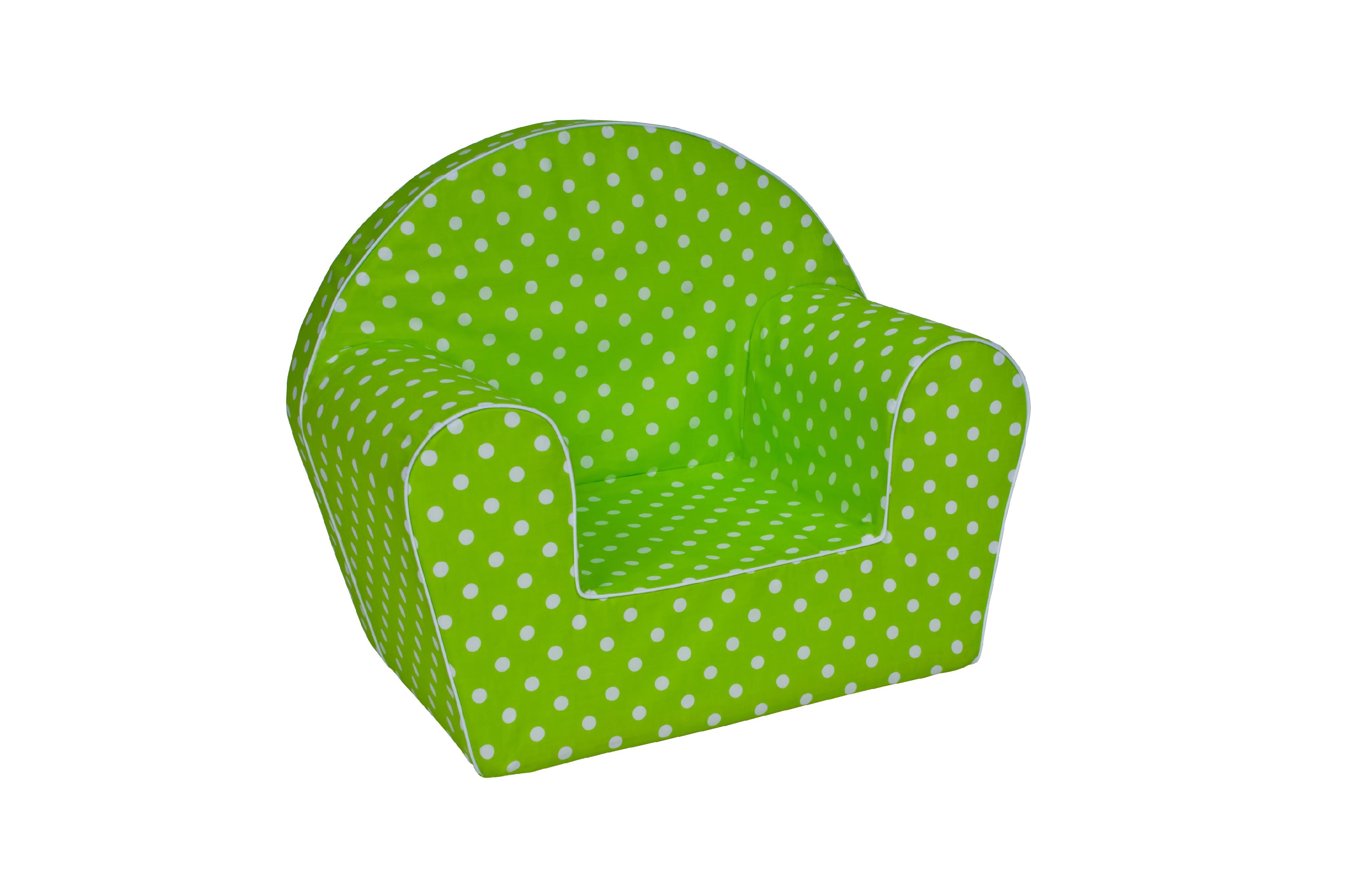 TEX-IM Dětské křesílko Baby Vzor: zelená