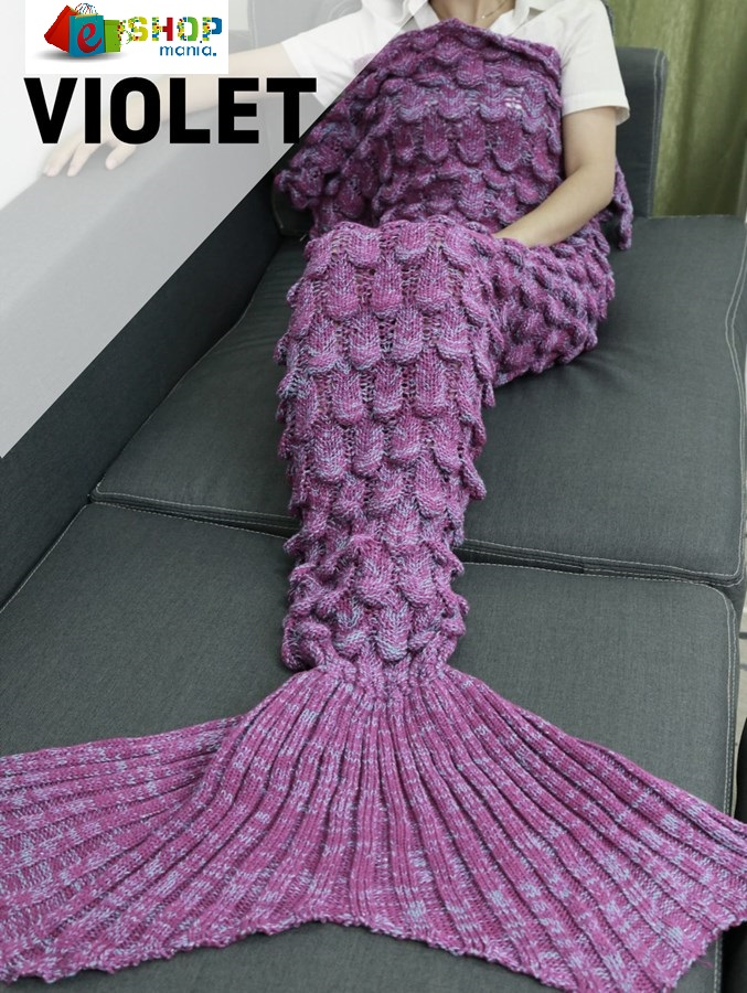 Deka Mořská panna Vzor: VIOLET