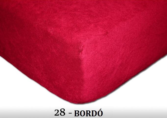 FIT Prostěradla 200g Barva: 38 MALINOVÁ, Rozměr: 180x200 cm