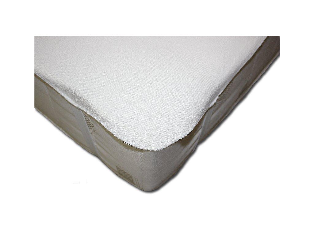 Chránič matrace s PU zátěrem bílá (Rozměr 220x200 cm)
