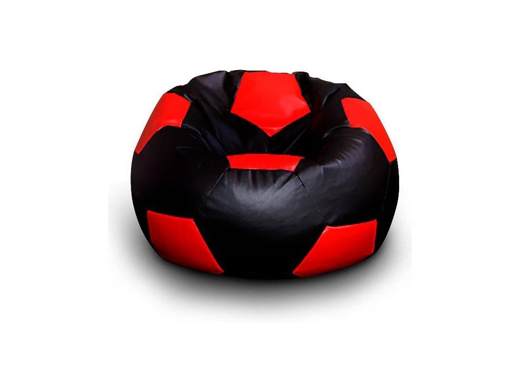 černo červený