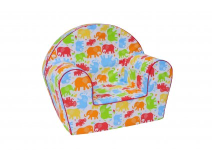 Baby barevný slon
