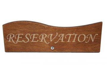Stojánek rezervé dřevěný