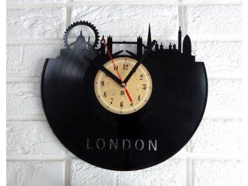 LP designové hodiny London