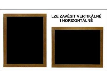 Reklamní tabule dřevěná závěsná malá