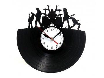 LP designové hodiny rock