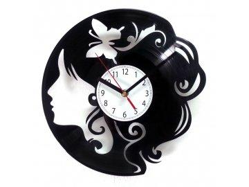 LP designové hodiny Chick