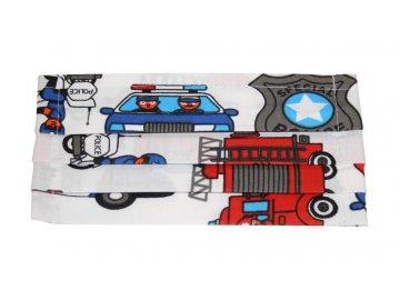 Rouška bavlněná hasiči a policie
