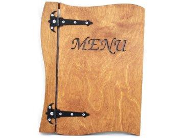 Desky na jídelní lístek ze dřeva