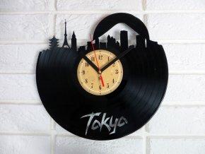 LP designové hodiny Tokio