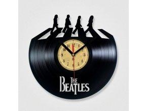 LP designové hodiny Beatles Abbey Road