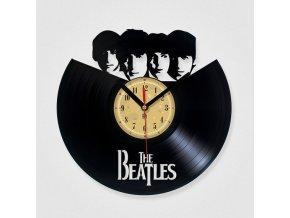LP designové hodiny Beatles