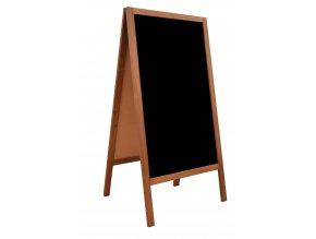 Reklamní stojan A dřevěný oboustranný