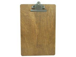 Dřevěná deska retro klip