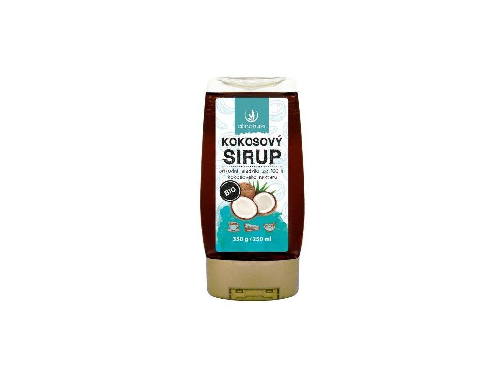 allnature kokosovy sirup bio 250 ml